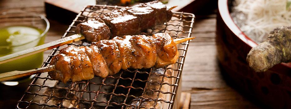 Robata Grilled Chicken & Waygu Beef