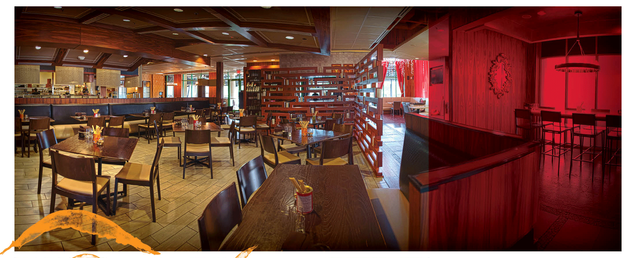 Main Dining Room | Dragonfly Robata Grill & Sushi | Sand Lake Road, Orlando