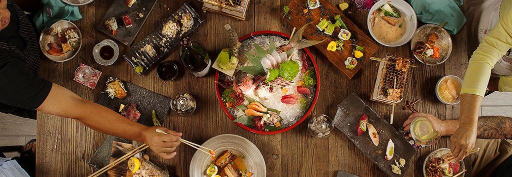 Japanese Cuisine Izakaya Table
