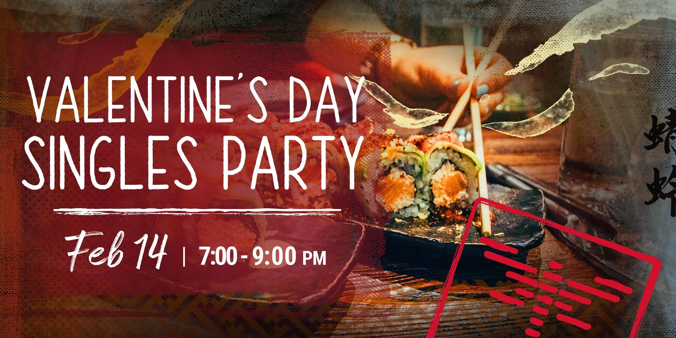 Dragonfly Doral 2018 Valentine's Day Specials - Singles Party Promo