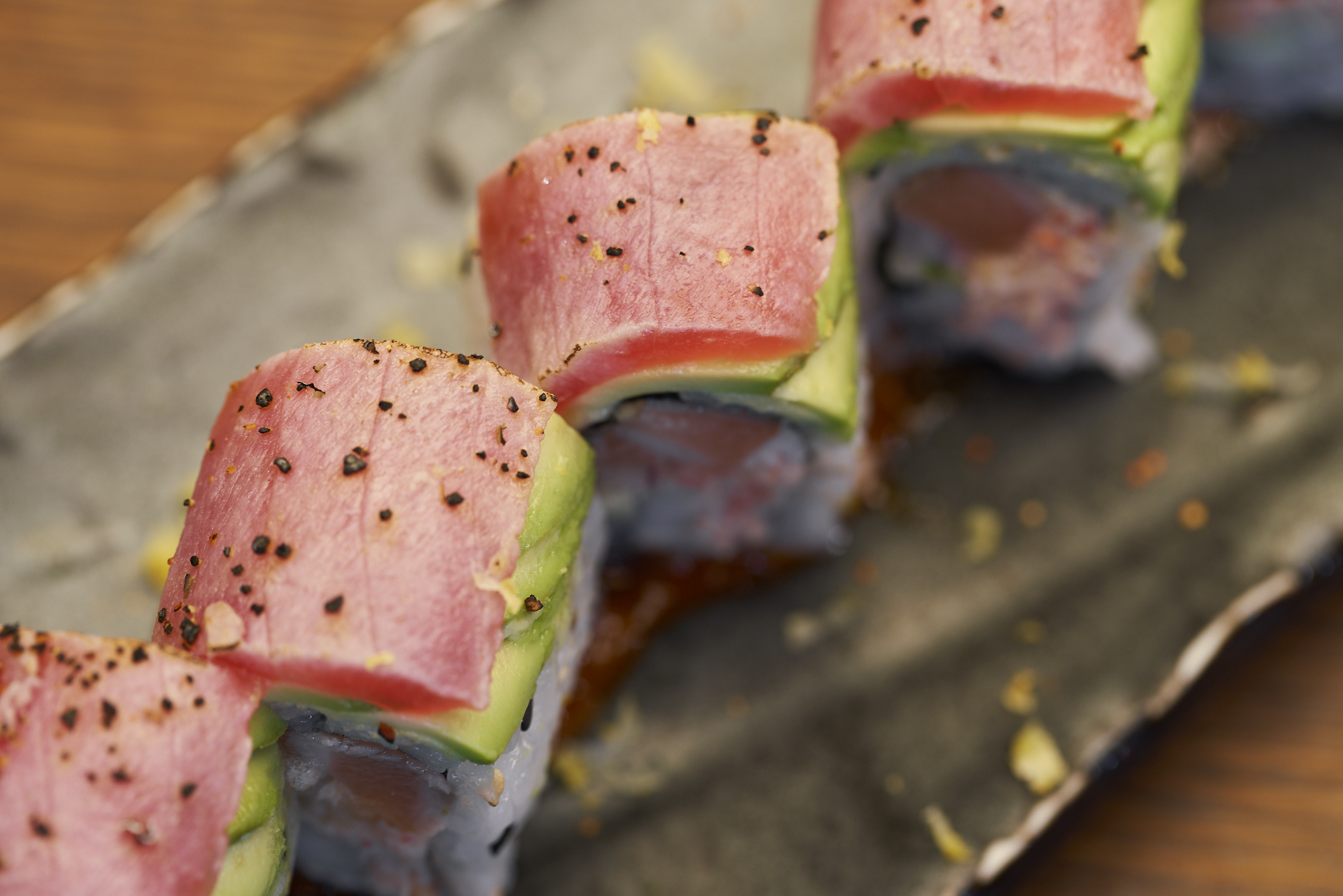 Maki Roll to celebrate the 2019 International Sushi Day in Doral